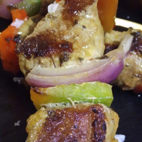 Pollo Tandori con verdura